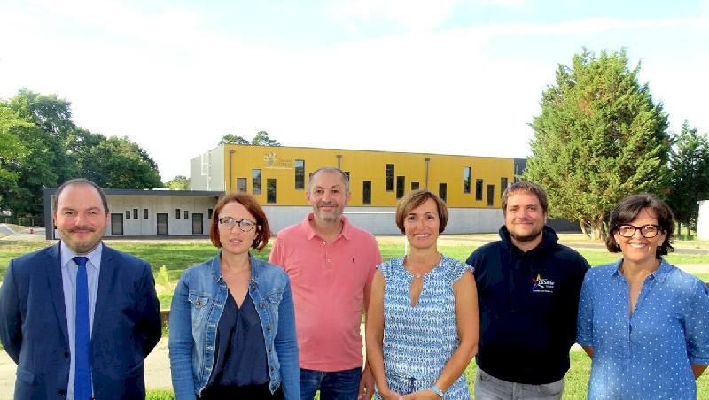Une nouvelle salle de sports au collège Saint-Laurent à Blain