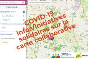 Carte des Initiatives Erdre et Gesvres - Infos/Solidarités COVID-19
