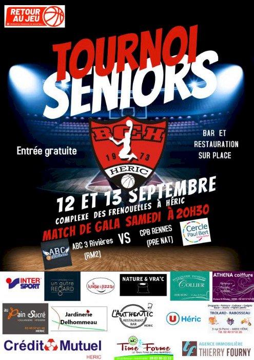 Basket : Tournoi Séniors Femmes et Hommes