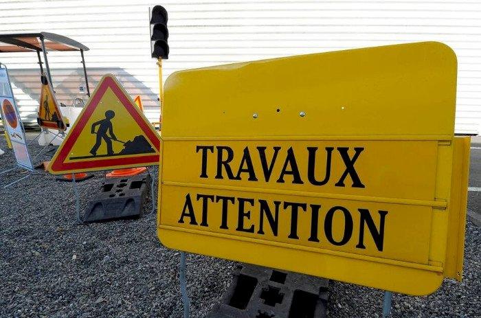 Presqu'île de Guérande. Une portion de la route bleue, en travaux, du 25 au 29 mai