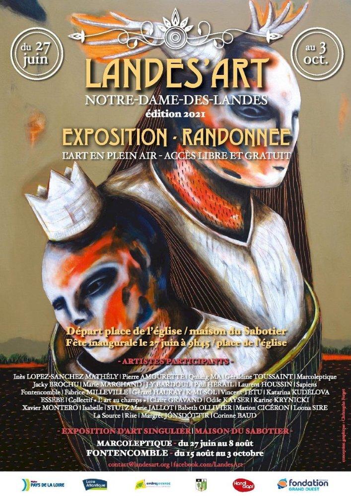 Landes'Art : une expo rando