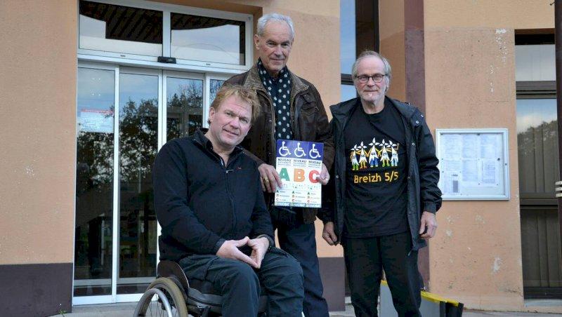 L'ambassadeur du handicap passe à Blain