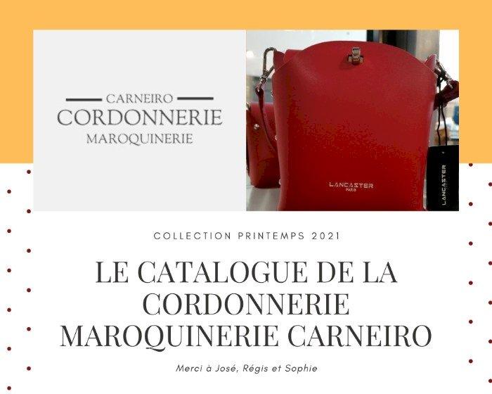 Nouveau catalogue de la Cordonnerie Maroquinerie Carneiro à Blain