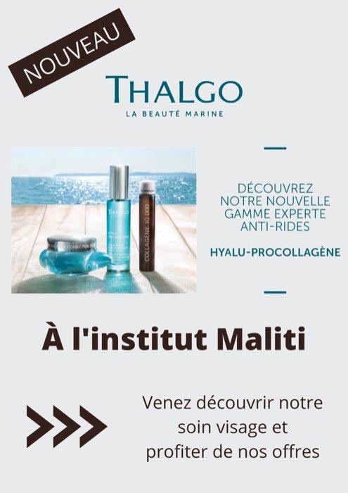 Découvrez le nouveau soin visage à l'institut Maliti
