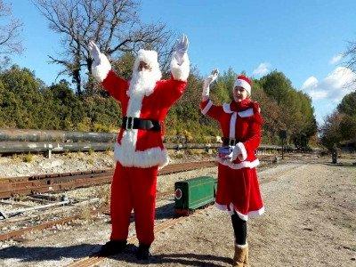 Le petit train du Père Noël