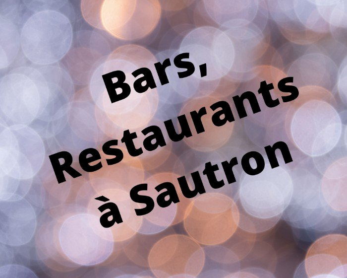 Vos Bars et Restaurants à Sautron