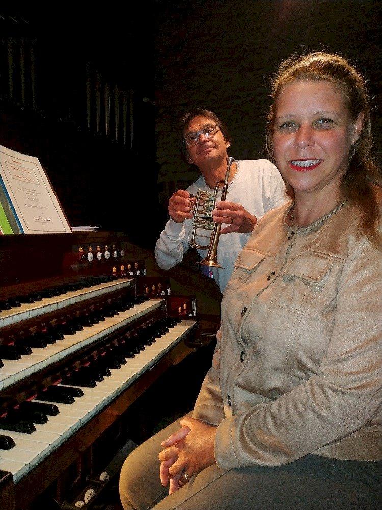 Duo trompette et orgue avec Claude Legal et Joy-Helen Morin