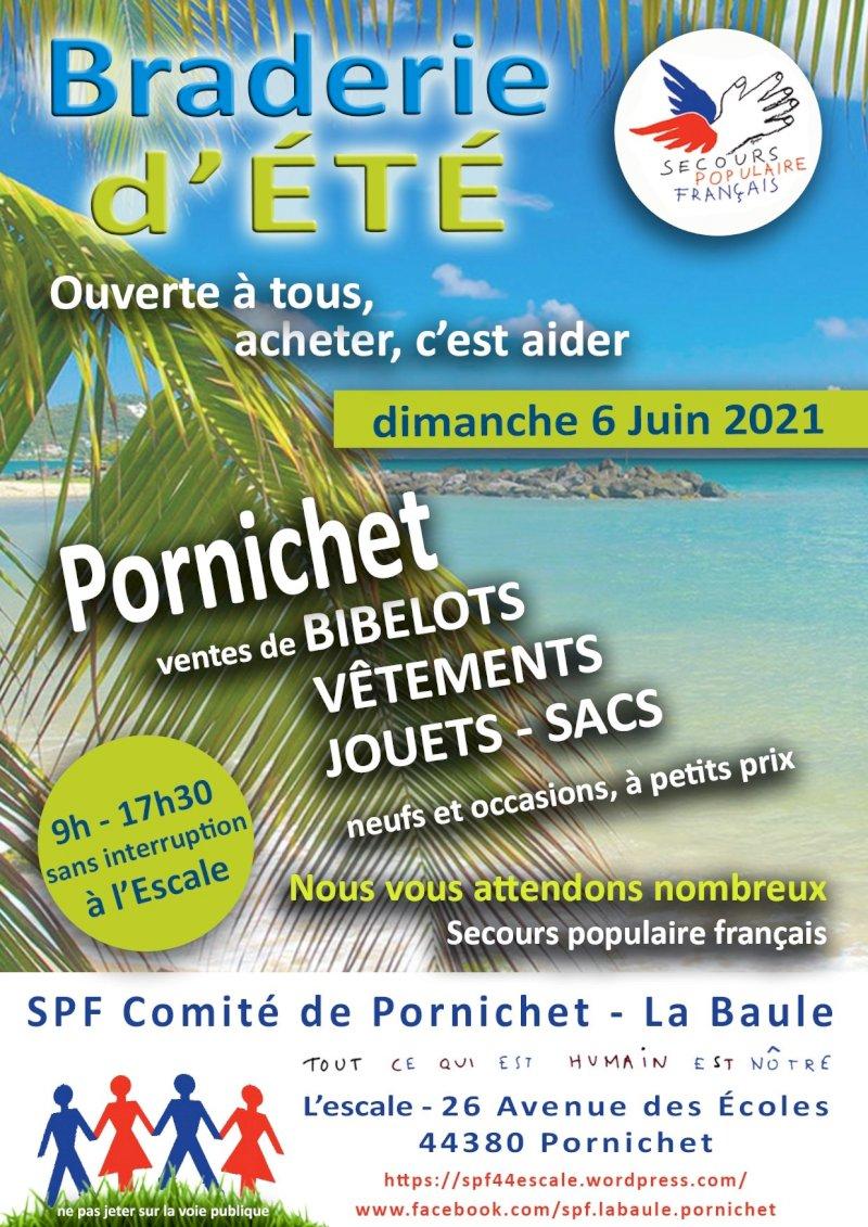 Braderie d'été du Secours populaire français