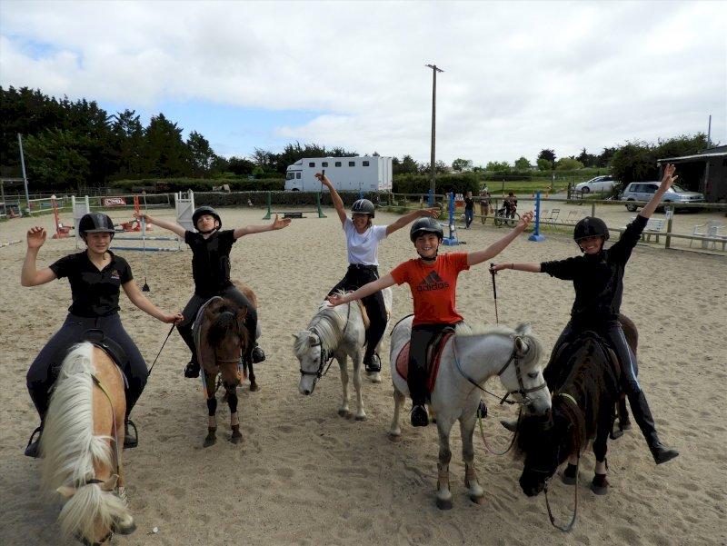 Joalland équitation : cours équitation et baby-poney