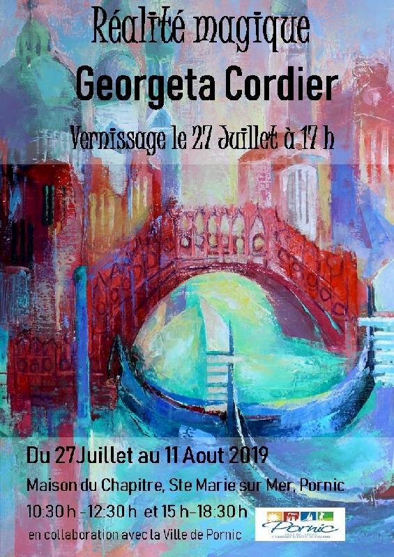 Peinture et sculpture de Georgeta Cordier « Realité magique »