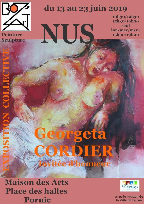 Exposition artistique collective sur le thème du nu