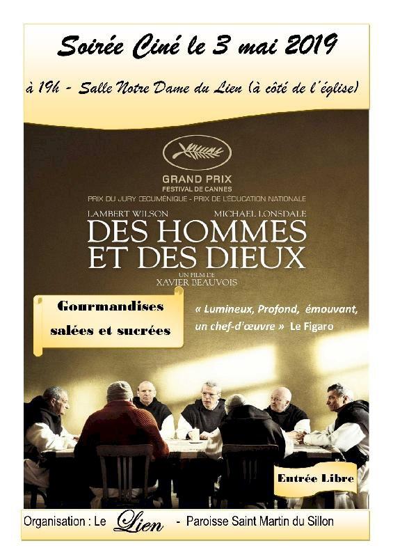 Projection film « Des hommes et des Dieux » par l'équipe du Lien