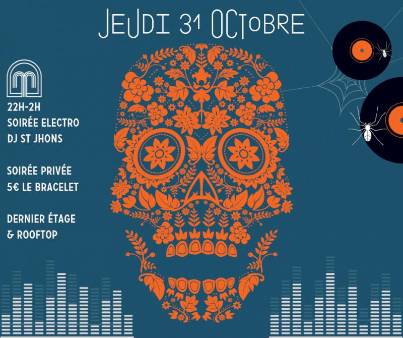 31/10/2019 – Soirée electro au Marius pour Halloween