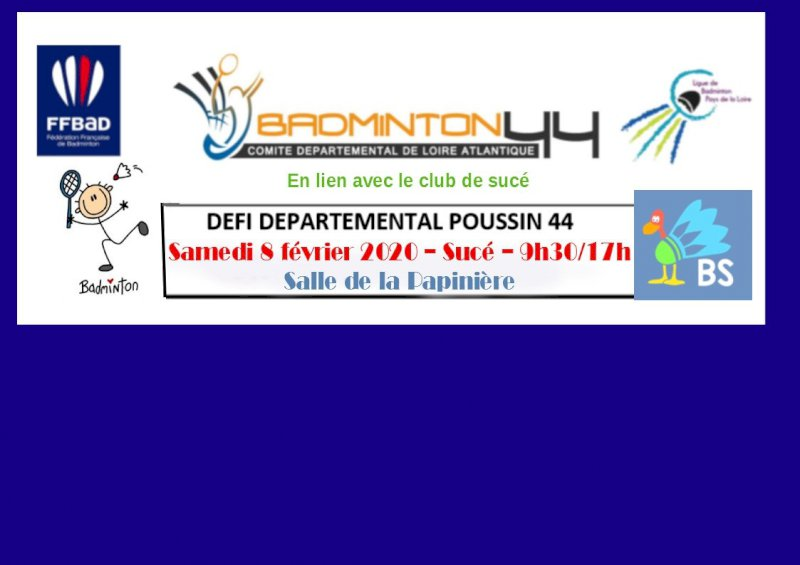 Codep44 de badminton