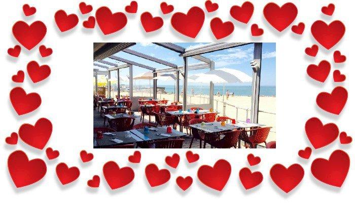 Les menus de Saint Valentin en vente à emporter de la Villanoë