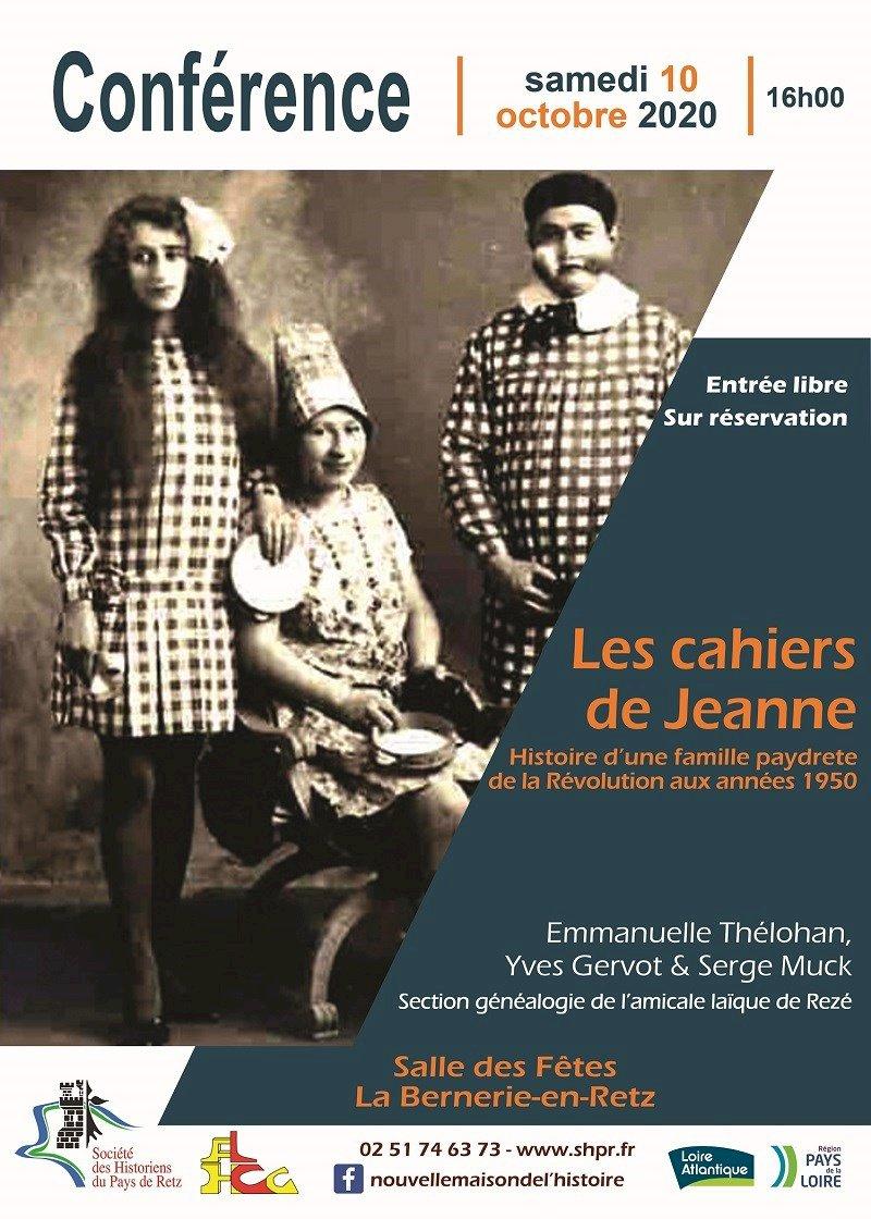 Les cahiers de Jeanne
