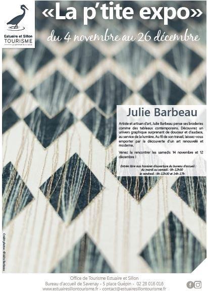 « LA P'TITE EXPO : JULIE BARBEAU »