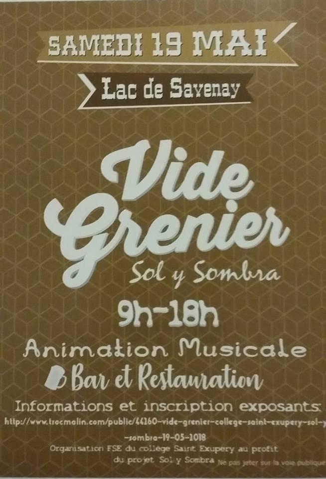 """VIDE GRENIER """"Sol y Sombra"""""""