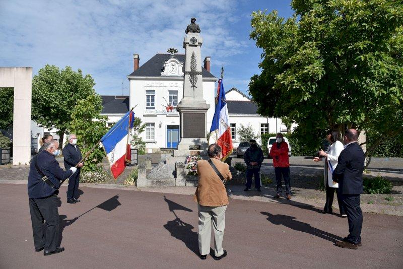 Commémoration de la victoire du 8 mai 1945.