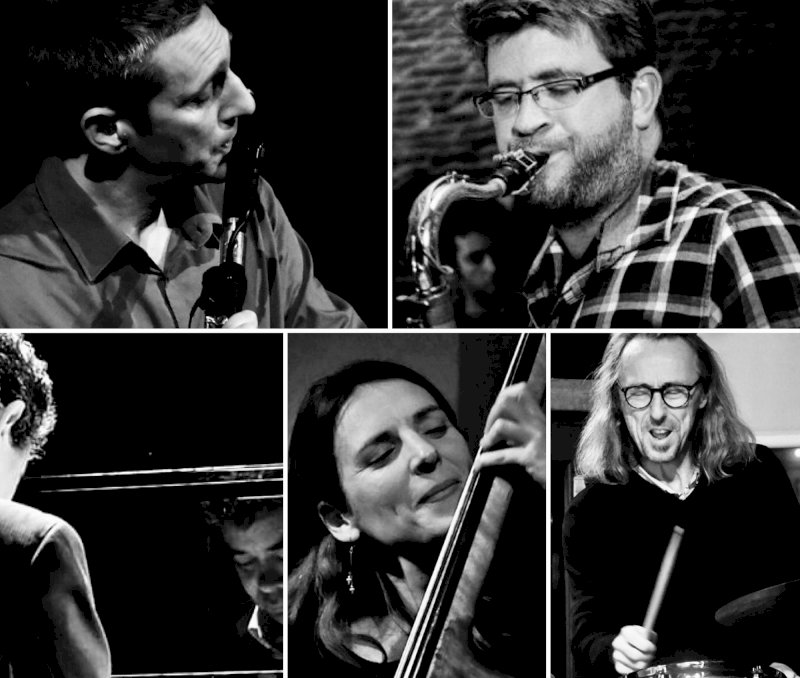 Jazz session Snakes and Ladders Quintet (Be-bop)
