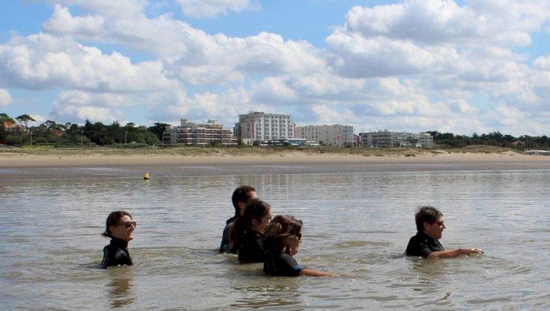Saint-Brevin. Une marche immergée dans la mer