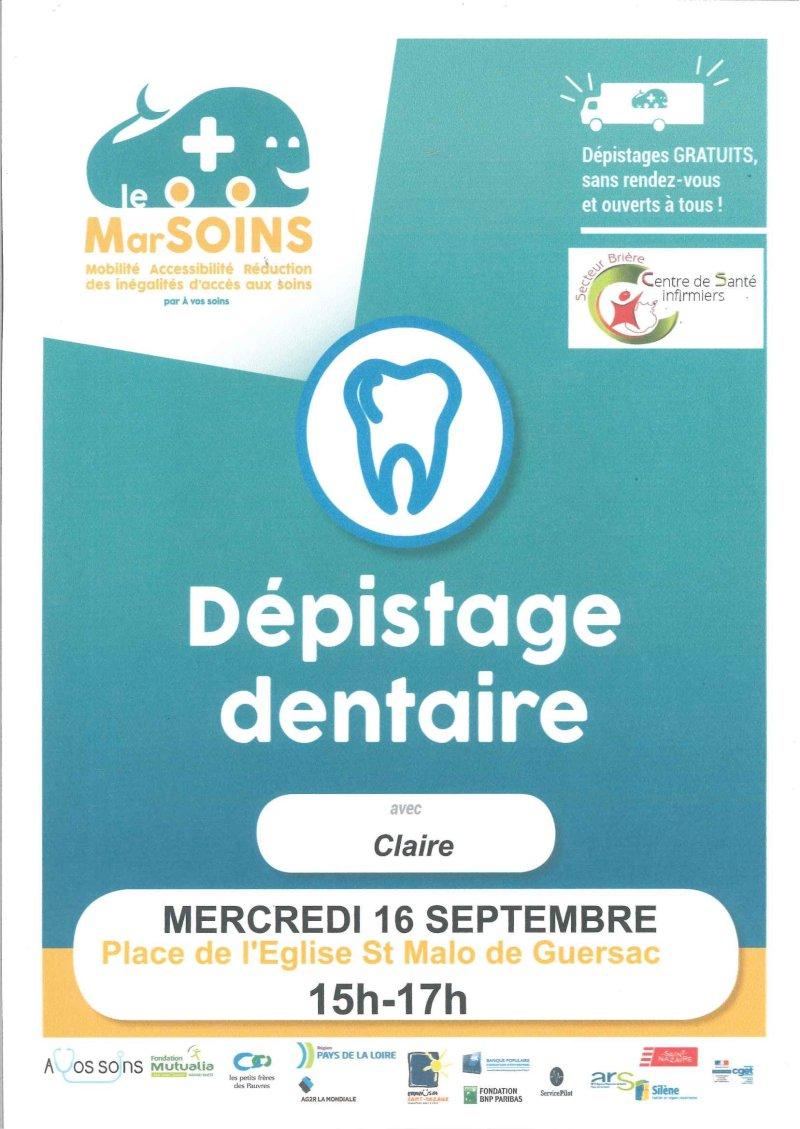 Dépistage dentaire gratuit