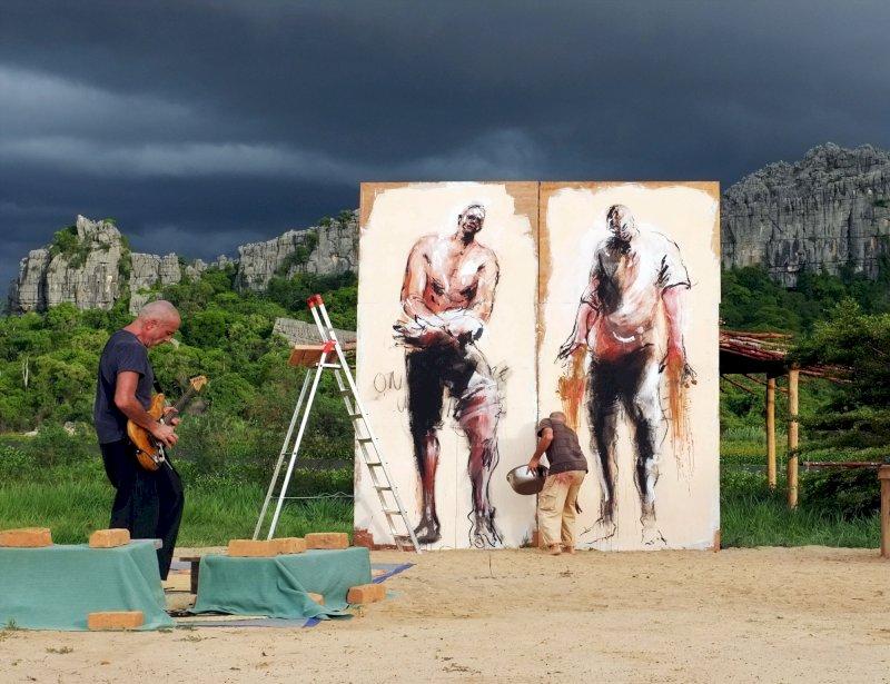 Festival les Renc'Arts : Serge Teyssot-Gay et Paul Bloas - Ligne de front