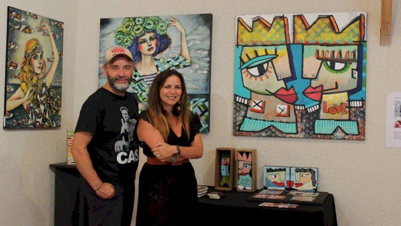 Pornic. Delphine Cossais et Mika exposent leurs dessins