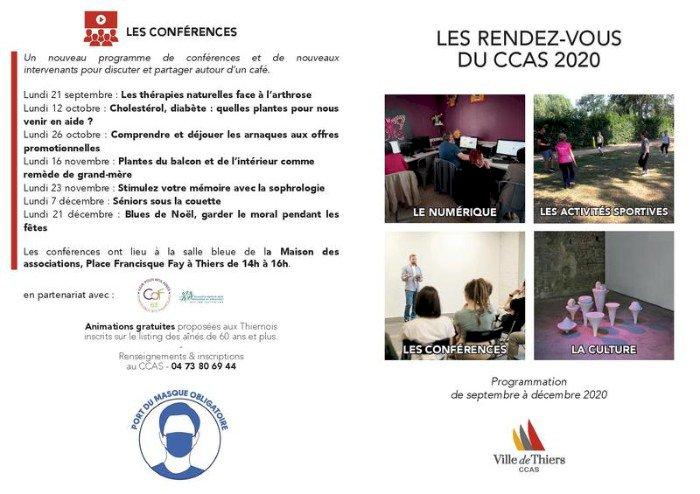 Les rendez-vous du CCAS - Les ateliers numériques