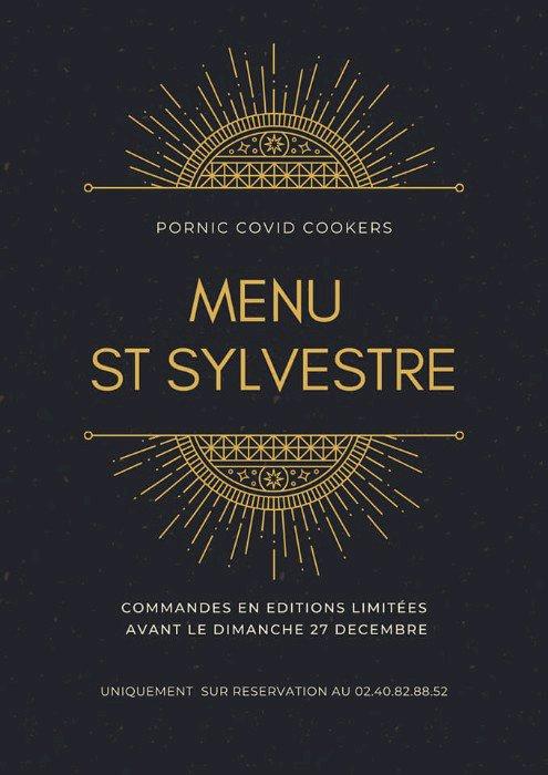 Les Covid cookers  vous présentent leur menu de réveillon de Saint Sylvestre