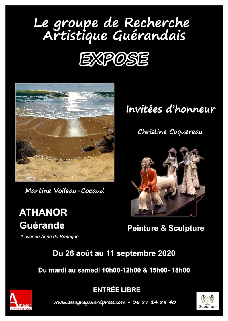 Exposition annuelle du Goupe de recherche artistique guérandais