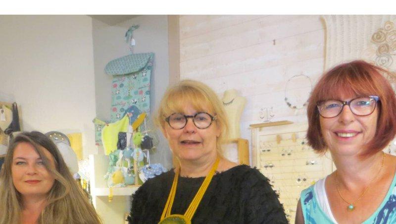 La Bernerie-en-Retz. Cinq créatrices exposent leurs œuvres