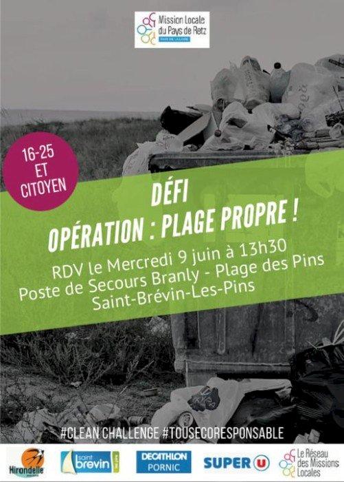 Défi : opération plage propre