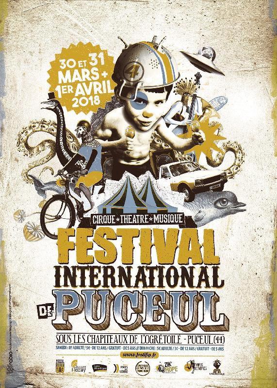 Festival international de Puceul 2018