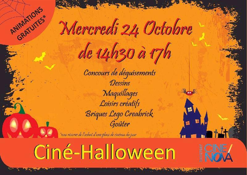 Halloween au Ciné Nova