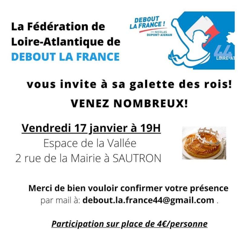Fédération de Loire-Atlantique de Debout la France