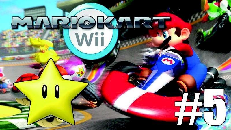 Jeux vidéo : tournoi Mario kart Wii #5