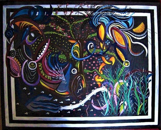 Peintures d'Élodie Cousin