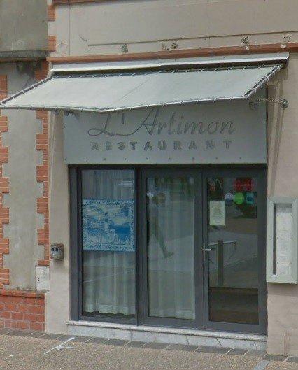 Le menus de vente à emporter du restaurant L'Artimon de La bernerie-en-Retz