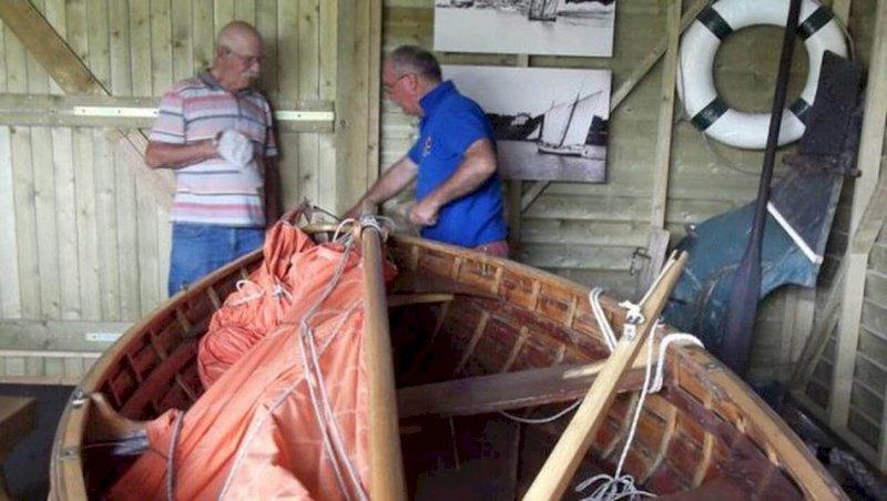 Pornic. Une balade pour découvrir les bateaux traditionnels