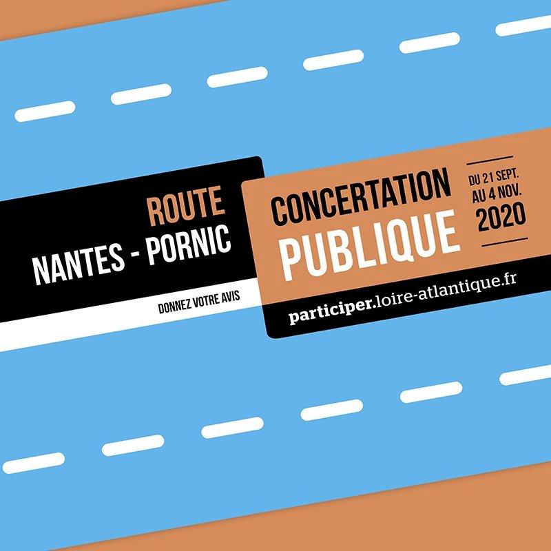 Concertation publique - route Nantes-Pornic