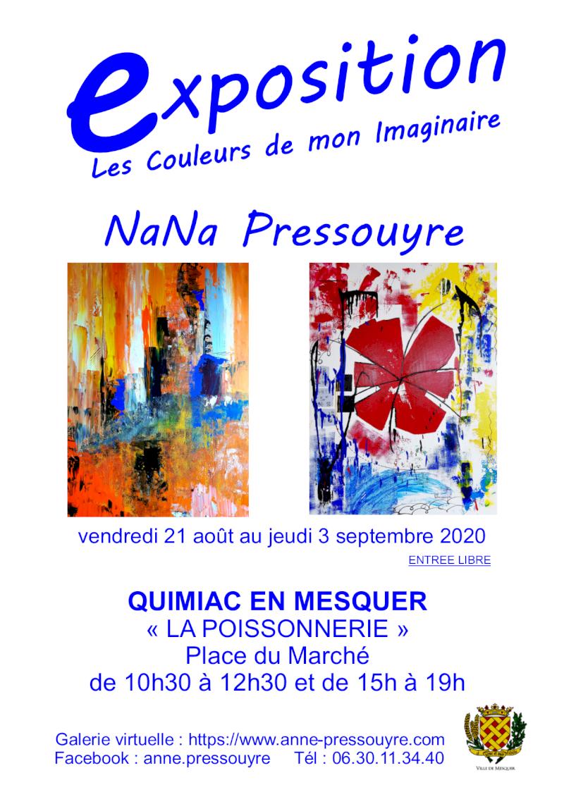 Expo de Nana Pressouyre