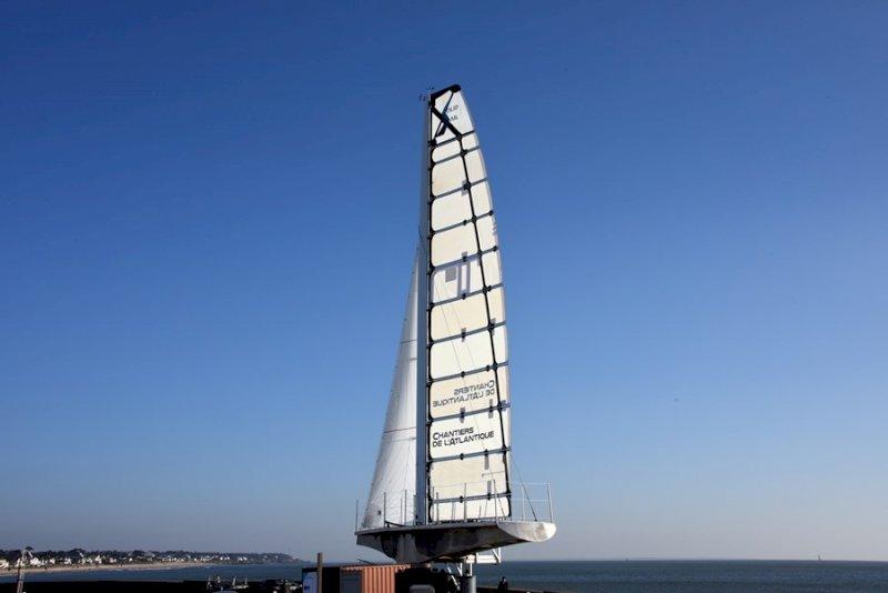 Visite de la Voile Solid sail