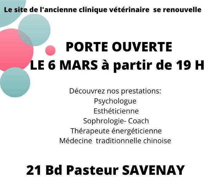 Nouveau ! Pôle Pasteur Savenay - PORTE OUVERTE