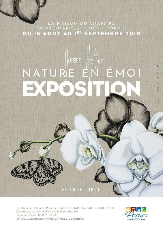 Tableaux de l'artiste peintre Aurore Hetier, « Nature en Émoi »