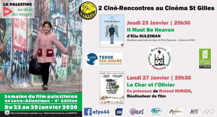 Semaine du film palestinien  du 23 janv. 12:00 au 27 janv. 23:00