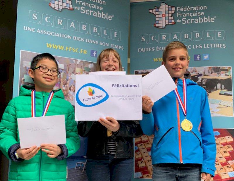 Finale locale du concours de Scrabble scolaire