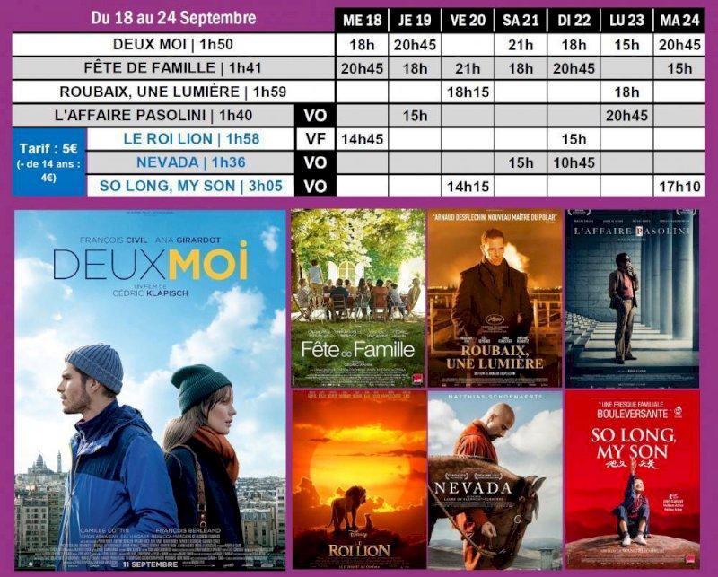Programme du Saint-Gilles du 18 au 24 septembre