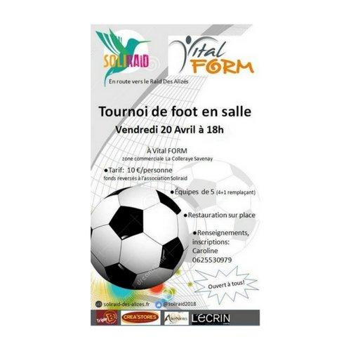 TOURNOI DE FOOT EN SALLE