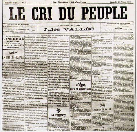« Le Cri Du Peuple » avec Olivier Magré, Mathieu Denaud, D. Dayot